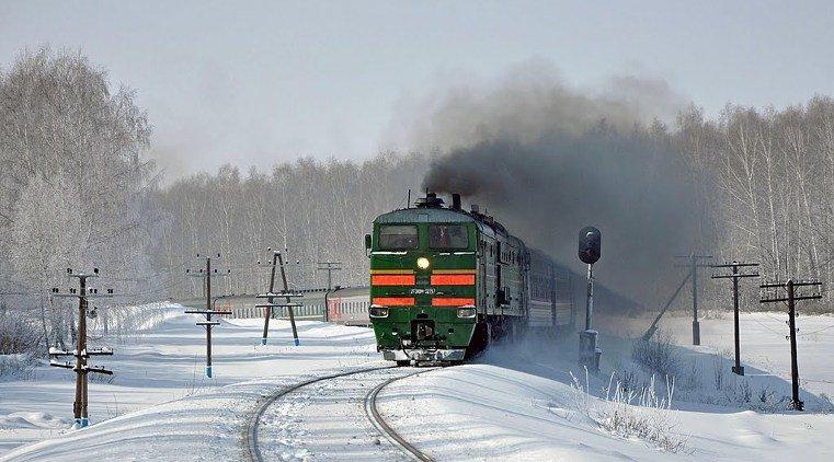 Поезд задавил женщину в Челябинской области