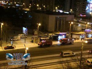 сгорел киоск Челябинск