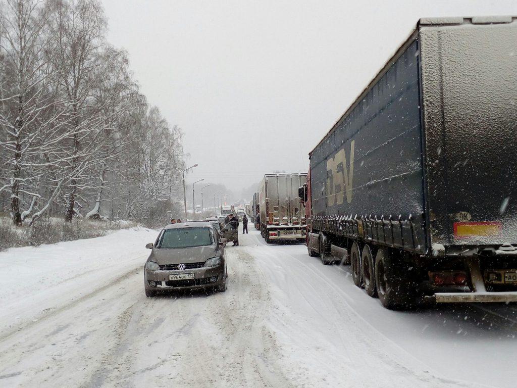 Натрассе вБашкирии для водителей устроили пункт обогрева