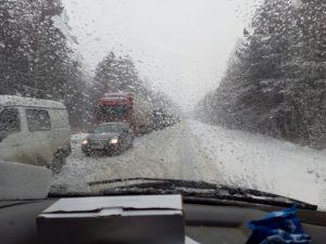 пробка на трассе Челябинская область