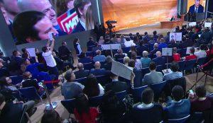 Представителям Южного Урала не удавалось задать свой вопрос Президенту