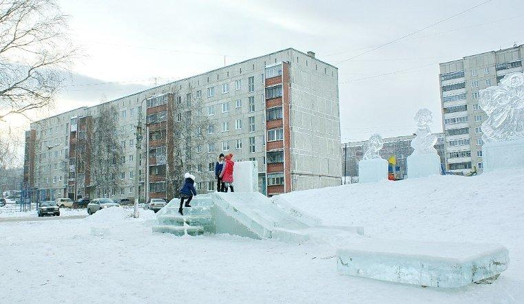 В Сатке мальчик травмировался на горке в ледовом городке