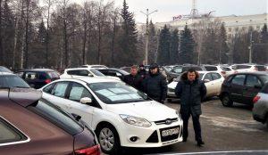 Автотеррорист у здания Челябинской мэрии