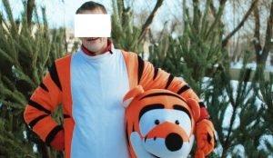 Алиментщик работал тигром