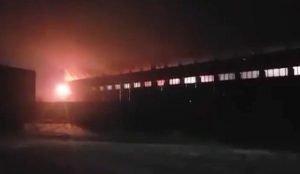 В Челябинске жгут вагоны