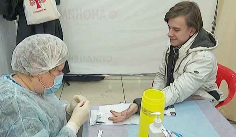 Во Всемирный день борьбы со СПИДом в Челябинске работали три мобильных пункта
