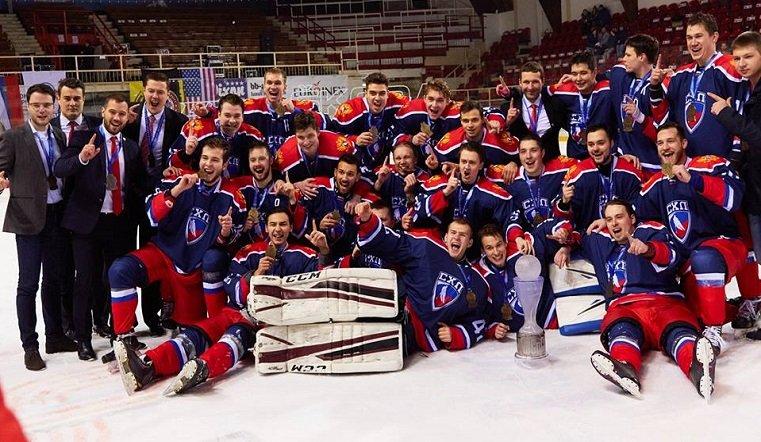 Барнаулец помог сборной Российской Федерации выиграть Кубок мира поуниверситетскому хоккею