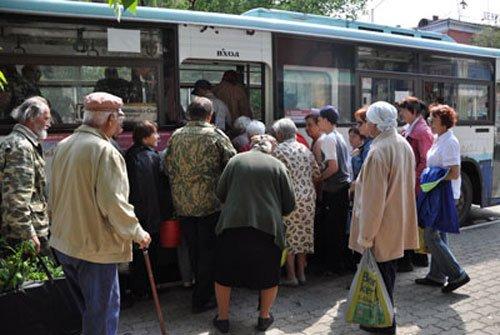 садовый автобус