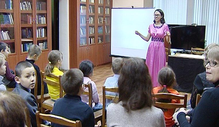 В юношеской библиотеке проходят мастер-классы