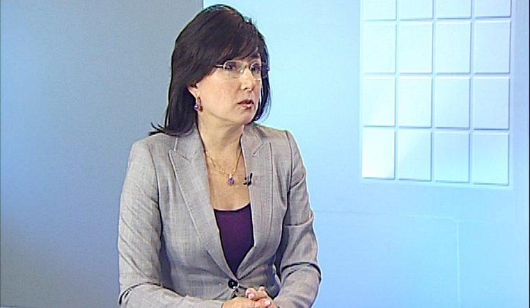 Гость председатель Союза журналистов Челябинской области Ольга Давиденко