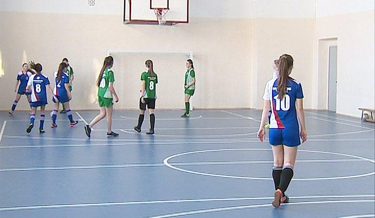 Тренировка команды из Аргаяшской школы №1