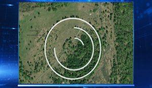 На снимках со спутников словно циркулем прочерченные идеальные окружности