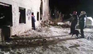 Трагедия в поселке Бажова в Копейске