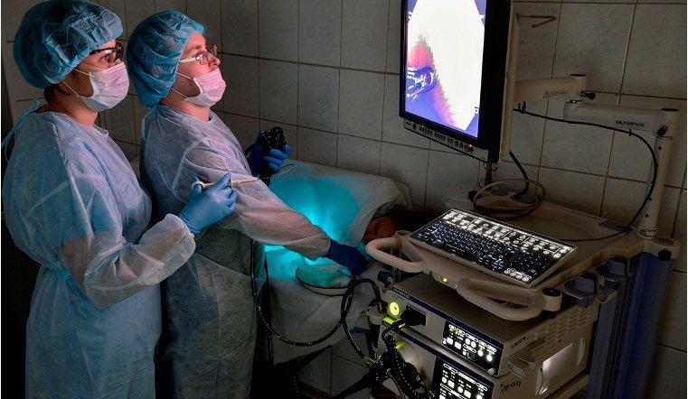 Челябинские хирурги успешно применяют эндоскопические процедуры