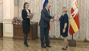 Глава региона вручил государственные премии работникам культуры и искусств