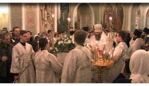 В храмах Челябинска прошли рождественские службы