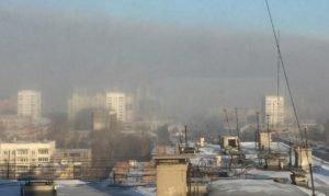 смог Челябинск