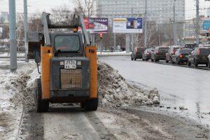 уборка снега Челябинск