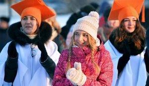 В России отмечают День студента