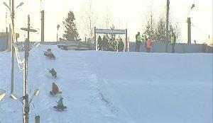 Ледовые горки и тюбинг врачи называют одним из самых опасных зимних развлечений