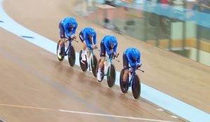 Дмитрий Мухомедьяров завоевал бронзовую медаль Кубка мира в командной гонке на треке