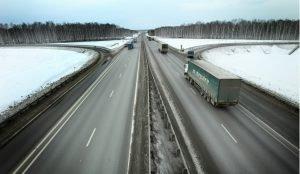 На трассе М-5 движение восстановлено после столкновения большегрузов
