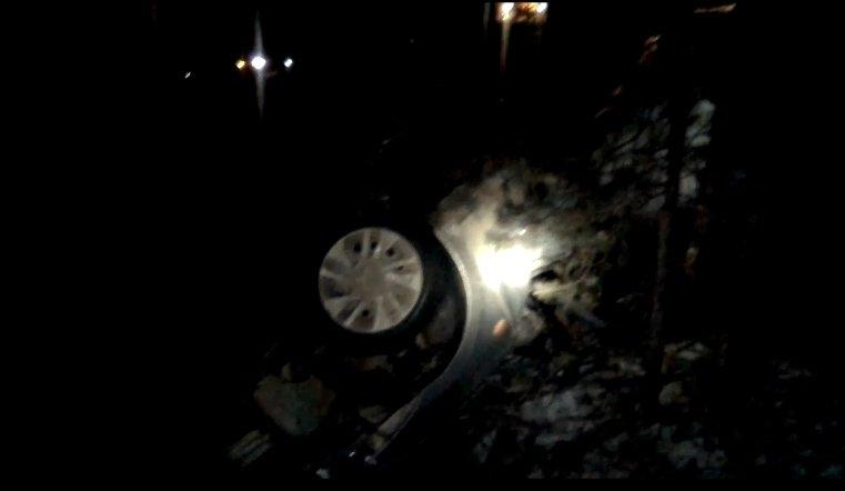 В ДТП под Каслями пассажирка Лады вылетела из машины через заднее стекло