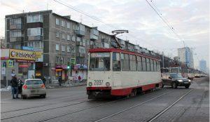 Трамваи встали в Челябинске