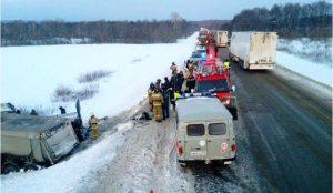 Девять человек погибли в ДТП на Трассе М-5