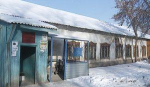 В старом бараке располагается филиал первой копейской больницы