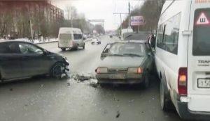 Виновник ДТП скрылся с места аварии