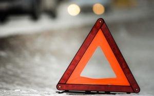 знак ДТП авария в Карабаше