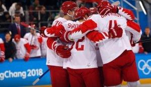 Российские хоккеисты выиграли полуфинал у чехов