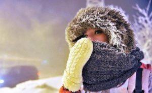 мороз похолодание
