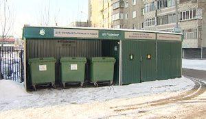 Эта площадка по раздельному сбору мусора считается чуть ли не лучшей в Челябинске