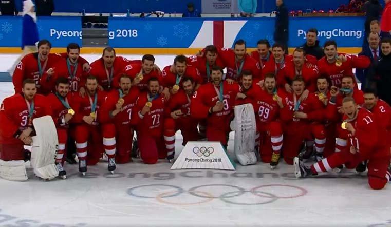 Русские хоккеисты завоевали золото Олимпиады