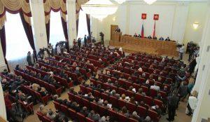 Дубровский озвучит послание Законодательному собранию