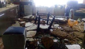 В Магнитогорске на жительницу старого дома обрушился потолок