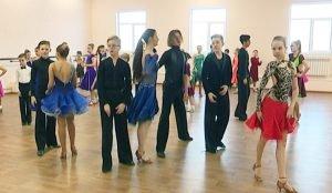 Новый зал для спортивных танцев