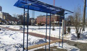 Остановочные комплексы для Челябинска начали делать в колонии
