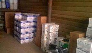 В Красноармейском районе накрыли склад с поддельным алкоголем