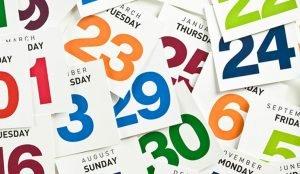 Важные даты и события апреля