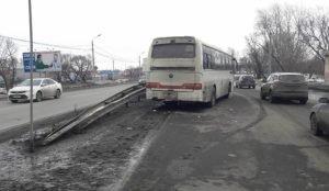 автобус сбил пешехода