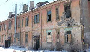Ветхий дом в Челябинске