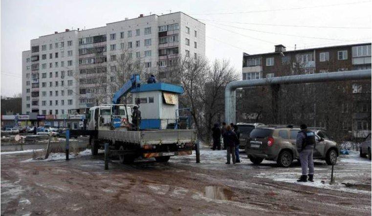 Власти Челябинска снесли незаконную стоянку