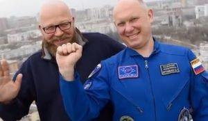 Челябинцы сделали клип для российского космонавта Артемьева