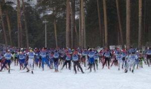 лыжники России