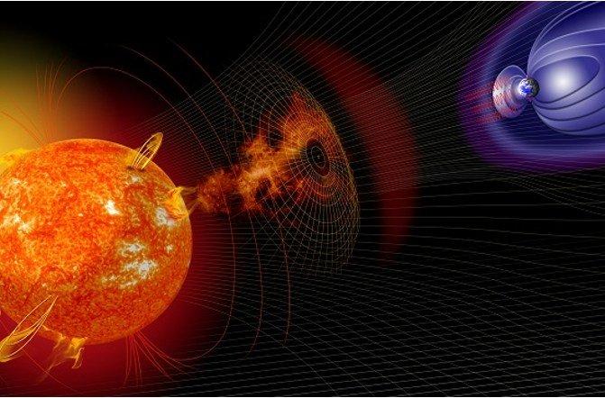 К Земле приближается геомагнитная буря