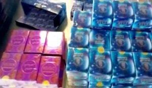Таможенники изъяли парфюмированные масла