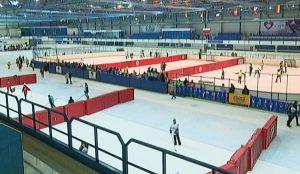 Хоккей в валенках в Челябинске